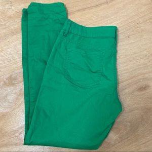 L.E.I Ashley Jeans Lowrise Skinny GREEN